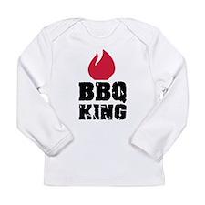 BBQ King fire Long Sleeve Infant T-Shirt