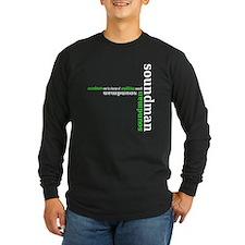 soundman - green Long Sleeve T-Shirt