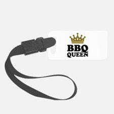BBQ Queen crown Luggage Tag