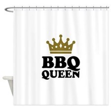 BBQ Queen crown Shower Curtain