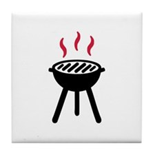 Grill BBQ Tile Coaster