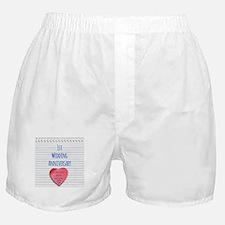 1st Wedding Anniversary Boxer Shorts