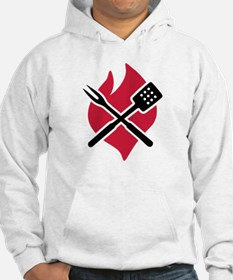 BBQ barbecue Fire Hoodie