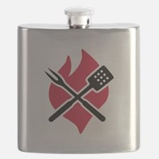 BBQ barbecue Fire Flask