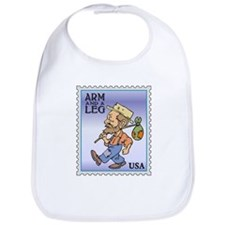 Arm And A Leg Bum Postage Increase Bib