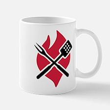 BBQ barbecue Fire Mug