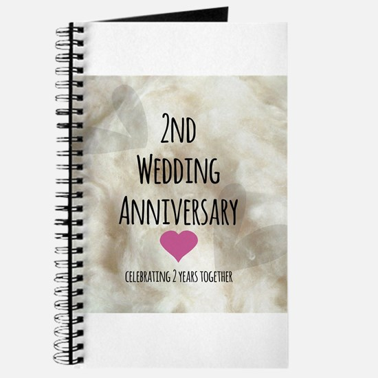 2nd Wedding Anniversary Journal
