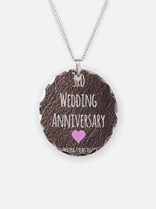 3rd Wedding Anniversary Necklace
