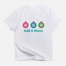 Christmas Ball Personalized Infant T-Shirt
