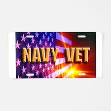 Cute Military navy Aluminum License Plate