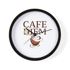 Cafe Diem Wall Clock