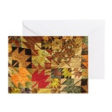 Fall Prayer Quilt Greeting Cards
