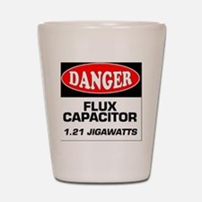 Danger Sign 1.21 Jigawatts BTTF Shot Glass
