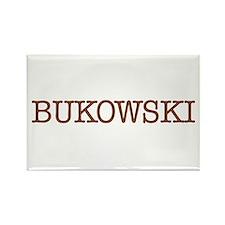 Bukowski Rectangle Magnet