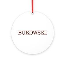 Bukowski Ornament (Round)