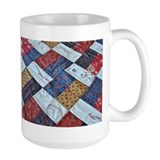 Sewing quilting Large Mugs (15 oz)