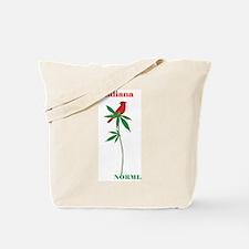 Indiana NORML Redbird Logo Tote Bag