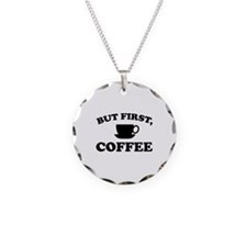But First, Coffee Necklace