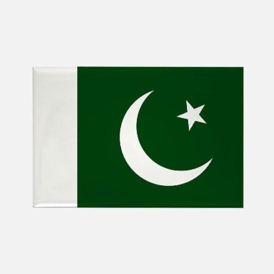 Pakistani flag Rectangle Magnet
