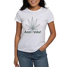 And I Vote! Tee