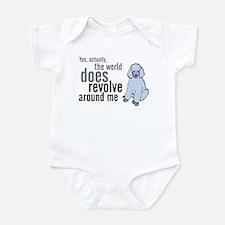 Center of the universe Infant Bodysuit