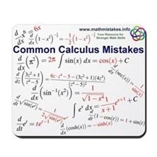 Common Calculus Mistakes Mousepad