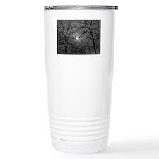 Cold Dark Winter Travel Mug