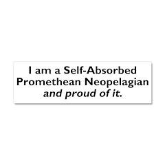 Self-Absorbed Promethean Neopelagian Car Magnet 10