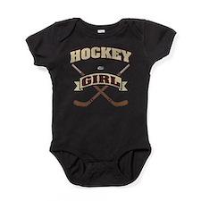 Hockey Girl Baby Bodysuit