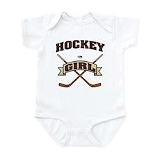 Hockey Girl Infant Bodysuit