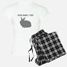 Custom Grey Rabbit Pajamas