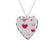 Hearts Love Peace Party  Necklace Heart Charm