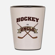 Hockey Uncle Shot Glass