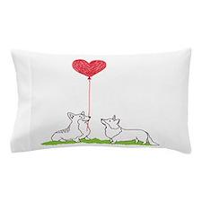 Corgi Valentine - Pillow Case