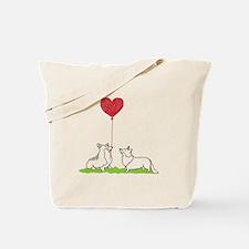Corgi Valentine - Tote Bag