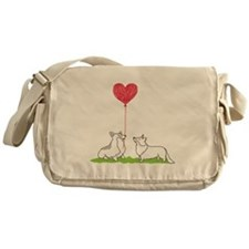 Corgi Valentine - Messenger Bag