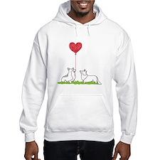 Corgi Valentine - Hoodie Sweatshirt
