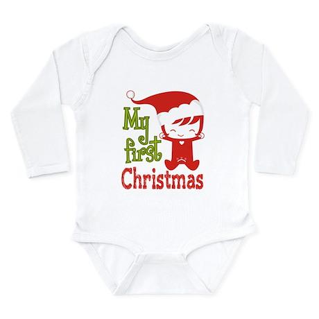 My First Christmas Santa Baby Girl
