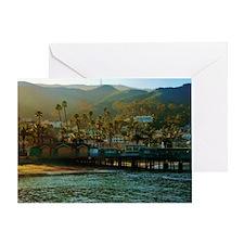 Catalina Pier Greeting Card