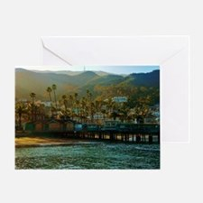 Catalina Pier Greeting Card