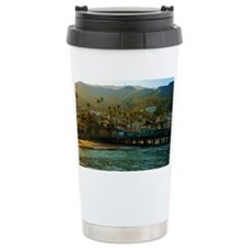 Catalina Pier Travel Coffee Mug