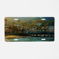 Catalina Pier Aluminum License Plate