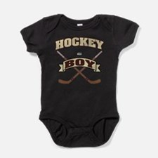 Hockey Boy Baby Bodysuit