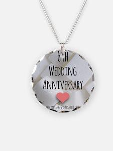 6th Wedding Anniversary Necklace
