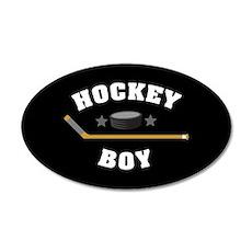 Hockey Boy Wall Decal