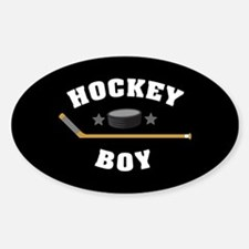 Hockey Boy Decal