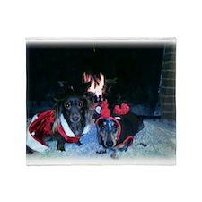 Christmas duo Mag and Nicky 5 Throw Blanket