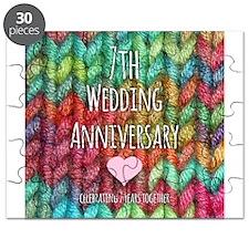 7th Wedding Anniversary Puzzle