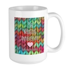 7th Wedding Anniversary Mugs