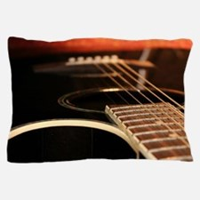Acoustic Guitar Pillow Case